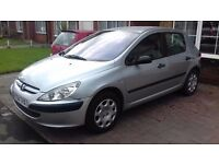 peugeot 307 hdi in silver