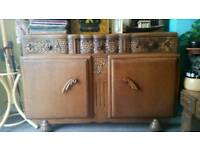 Antique sideboard for sale.