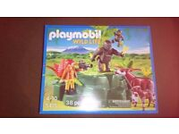Playmobil wildlife set (5415) gorillas & okapis