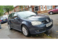 GOLF GT TDI 170 DSG TOP SPEC PADDLE SHIFTS FULLY LOADED NEED GONE ASAP