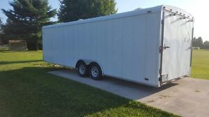 26' car trailer with generator