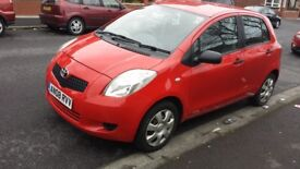 Toyota yaris vvt-i t2 one owner 08 reg