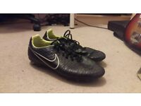 Nike Magista Artificial Ground 3G Rounded Stud Football Boots UK Size 11 Black/Green