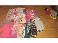 Massive bundle of 3-4 clothes with coat as well