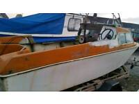 Project 17ft microplus with engine and trailer