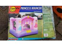 Princess Bouncy Castle hardly used in very good condition.