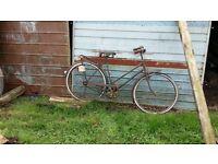2 vintage bicycles for restoration