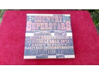 Country Superstars - Box Set of 7 LP's