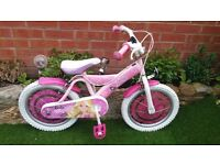 pink barbie bike