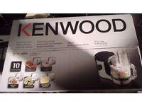 Kenwood food processor has 10 functions.