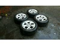 "16"" astra sxi wheels and tyres with great tread"
