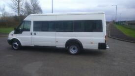 2006 FORD TRANSIT BUS 17 SEATS MINT FULL HISTORY