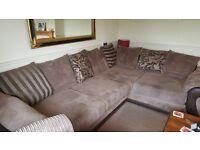 Material corner sofa (dfs)
