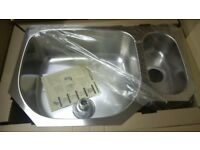 Kindred Stainless steel kitchen under mounted sink, Brand new, in original packaging