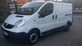 2013 / 63 PLATE Vauxhall Vivaro 2.0 CDTi 2700 Panel Van 4dr ( SWB CREW VAN 5...