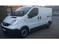 2013 / 63 PLATE Vauxhall Vivaro 2.0 CDTi 2700 Panel Van 4dr ( SWB CREW VAN 5 SEATS ) NO VAT NO VAT
