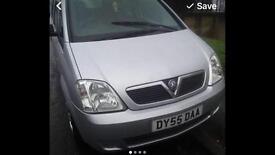 Vauxhall meriva life 2005 petrol 1.6cc
