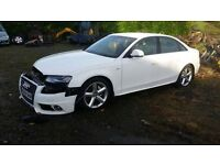 Audi A4 2.0 Tdi S-line 2010 for parts!