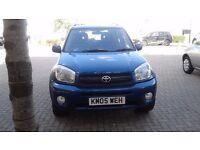 2005 Rav4 XT4 VVTI PETROL 1998c MANUAL Very clean & reliable car