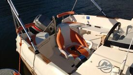 Boat 17ft,Quicksilver 510,great condition ,including trailer ,outboard lifejackets,satnav,ship radio