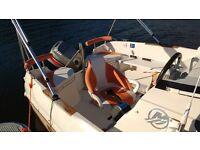Boat 17ft,Quicksilver 510,great condition ,including trailer ,outboard lifejackets,satnav,ship radio