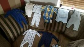 Tiny baby clothing bundle