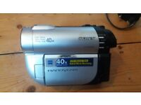 Sony Handycam, DCR-DVD110E, barely used and still in box with all accessories