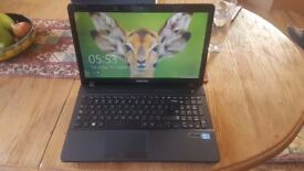Laptop. Samsung 270E Notebook windows 8 , 750gb hd , 8gb ram, 2.6ghz i5