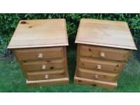 Kerris Pine Waxed Bedside Tables