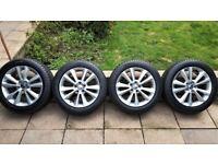 4 x Genuine Volvo alloys wheels 17 with brand new Toyo tyres 225/50R17