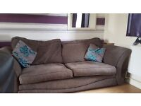 Brown sofa bed excellent condition would like £80 ono