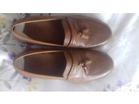 Mens LeatherTan shoes worn twice.... £20