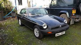 MG Motor Car model BGT great condition for year