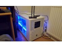 Oil cooled gaming pc
