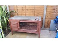 Rabbit hutch for sale, good condition