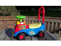 Disney Mickey Mouse Clubhouse Activity Ride-On