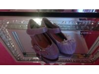Girls Special Occasion Sparkle Shoes Size 9