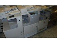 CANON IMAGERUNNER IR3225N WITH DF CAB FINISHER PS/PCL PRINT ONLY 65K