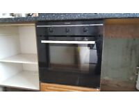 Electric hob and electric fan assisted oven