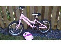 Girls pink Ridgeback melody bike. Suit 5/6 yr old