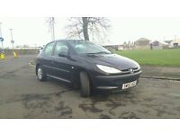 2002 Peugeot 206 LX 1.1 Petrol 5 Door - 91290 Miles - MOT July 2017 - Recent New Parts