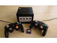 Black Nintendo Gamecube