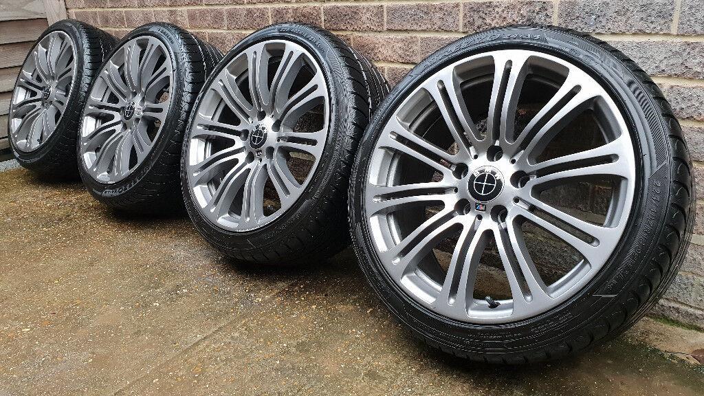 Bmw E90 M3 Replica 18 Alloy Wheels With Tyres Style 220 3 Series E36 E46 In Bursledon Hampshire Gumtree