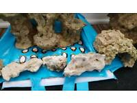 All aquaroche rock and caves wereover £400..lot for £75
