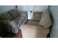 Lovely gray suite. 2x 2seater sofas NEXT
