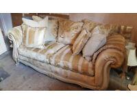 Italon - 2 to 2.5 person sofa - in gold