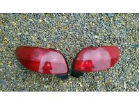 Peugeot 206 convertible rear lights