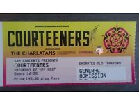 X2 Tickets !! Courteeners live manchester 27/5/17