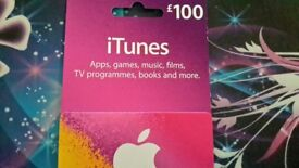 £100 ITUNE VOUCHER (SOLD)