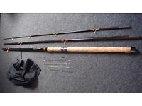 Vintage 13ft float quiver tip fishing rod looks new